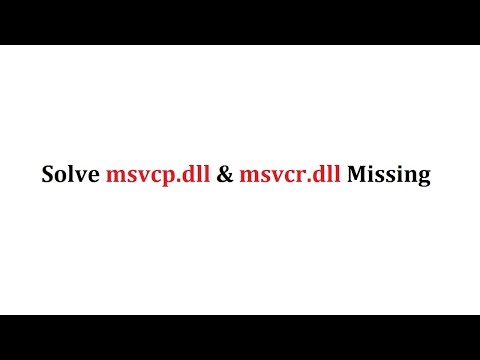 MSVCP100.dll missing error all game problem solving