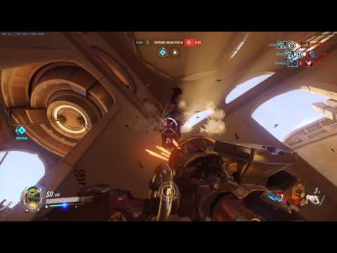 Overwatch GAME BREAKING GLITCH : ROADHOG WALLCLIMB(please fix)