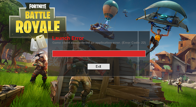 Fortnite error fix