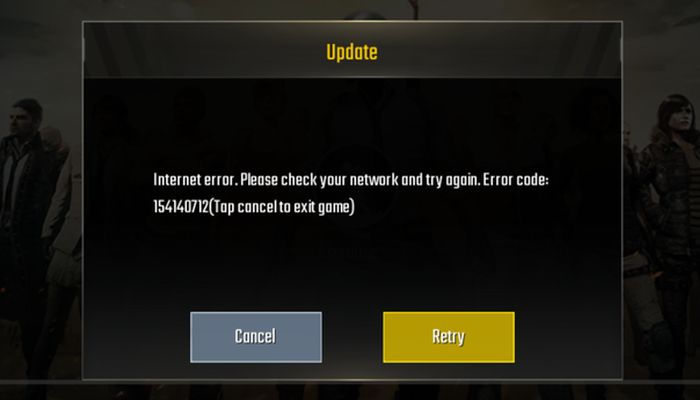PUBG Mobile: How to Fix Internet Error 154140712 Now