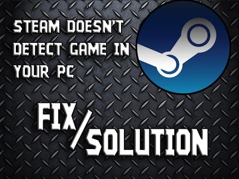Steam Library doesn't detect your games FIX SOLUTION