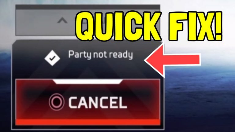 How to fix Apex Legends error messages: Party Not Ready